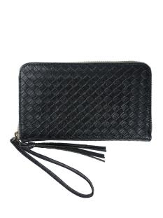 02lp19vazw leuke portemonnee zusss tas zwart gewafeld
