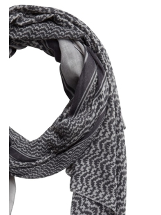 pcerva long scarf 17097086 pieces sjaal light grey melange