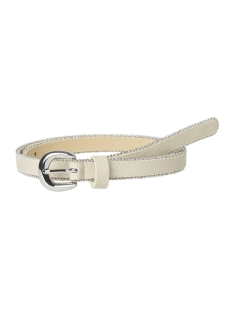 pcevelin jeans belt 17096943 pieces riem white pepper