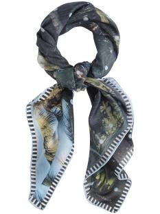 zomerse top met dot print 28001429 sandwich sjaal 41010