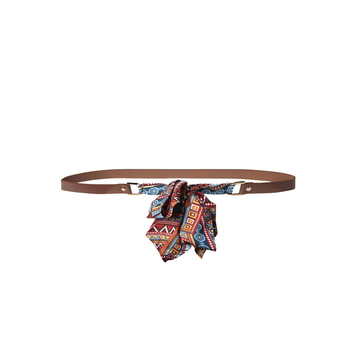 pcsine leather jeans belt 17097255 pieces riem cognac