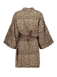 pccynthia kimono box 17096510 pieces vest black/leo