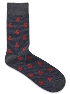 jacelemets socks noos 12157888 jack & jones accessoire fiery red