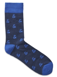 Jack & Jones Accessoire JACELEMETS SOCKS NOOS 12157888 Sargasso Sea