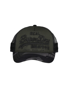 Superdry Accessoire PREMIUM GOOD CAP M9000010A ARMY GREEN