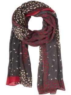 sjaal met leaf print 28001450 sandwich sjaal 80025