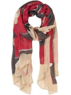 sjaal met bloemenprint 28001451 sandwich sjaal 20147