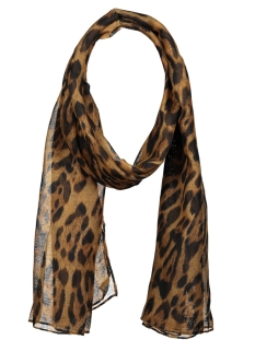 Touch Sjaal SCARF ROMY SH68436 BROWN/BLACK