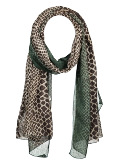 Touch Sjaal SH68338 SCARF JESSICA GREEN/BROWN