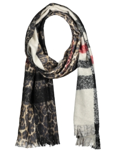 Touch Sjaal SCARF MEGAN SH68371 BLACK/PANTER