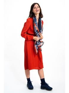 blauwe sjaal met print h90330 garcia sjaal 292 dark moon