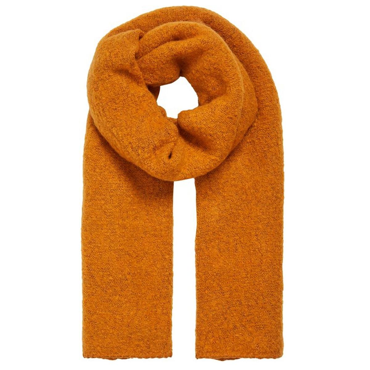 vitobi knit scarf-noos 14047111 vila sjaal golden oak