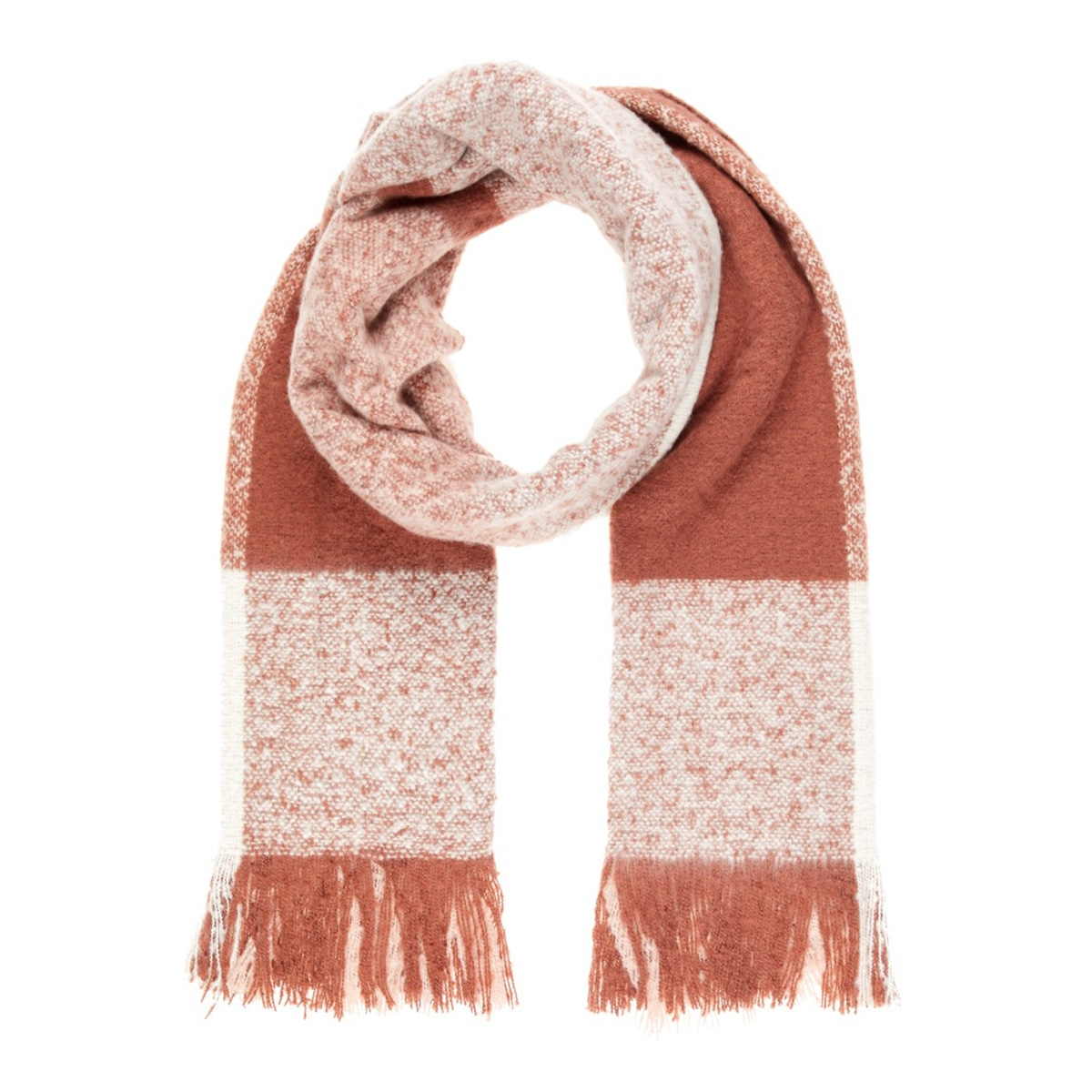 vmkarna long scarf ga boos 10216459 vero moda sjaal mahogany