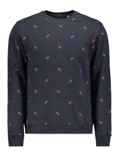 Only & Sons sweater onsKNIGHT AOP FLEECE SWEAT 22013473 Dark Navy