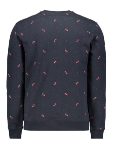 onsknight aop fleece sweat 22013473 only & sons sweater dark navy
