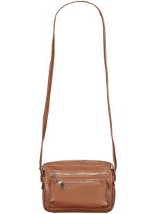 objkensi pu crossover bag rep. 23029168 object tas brown patina