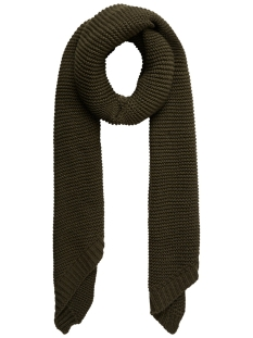 Pieces Sjaal PCDACE LONG WOOL  SCARF NOOS 17090600 Forest Night