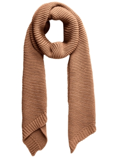 pcdace long wool  scarf noos 17090600 pieces sjaal toasted coconut