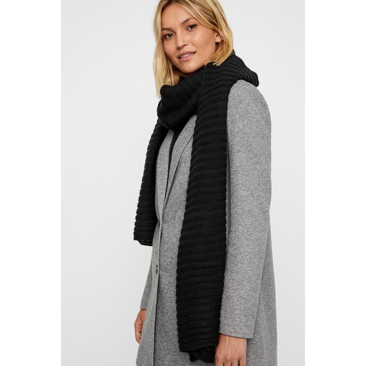 vmfia long scarf boos 10215893 vero moda sjaal black
