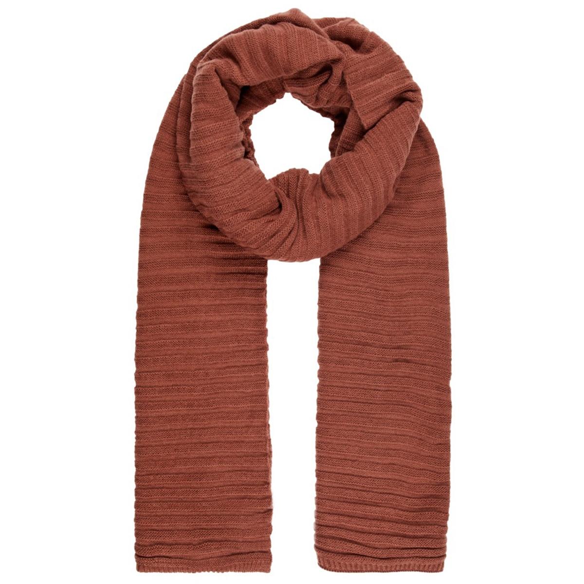 vmfia long scarf boos 10215893 vero moda sjaal mahogany