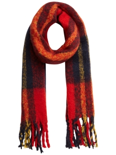 Pieces Sjaal PCELLIE LONG SCARF NOOS 17097216 Racing Red