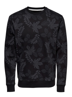 Only & Sons sweater onsBELKIN SWEAT CREW NECK VD 22013656 Black