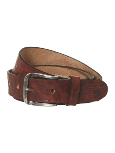 NO-EXCESS Riem LEATHER BELT 92BLT52 140 CAMEL