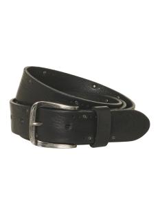 leather belt 92blt50 no-excess riem 020 black