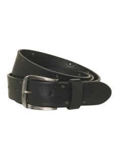 NO-EXCESS Riem LEATHER BELT 92BLT50 020 BLACK
