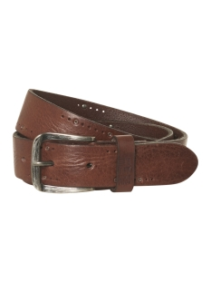 NO-EXCESS Riem LEATHER BELT 92BLT50 042 DK BROWN