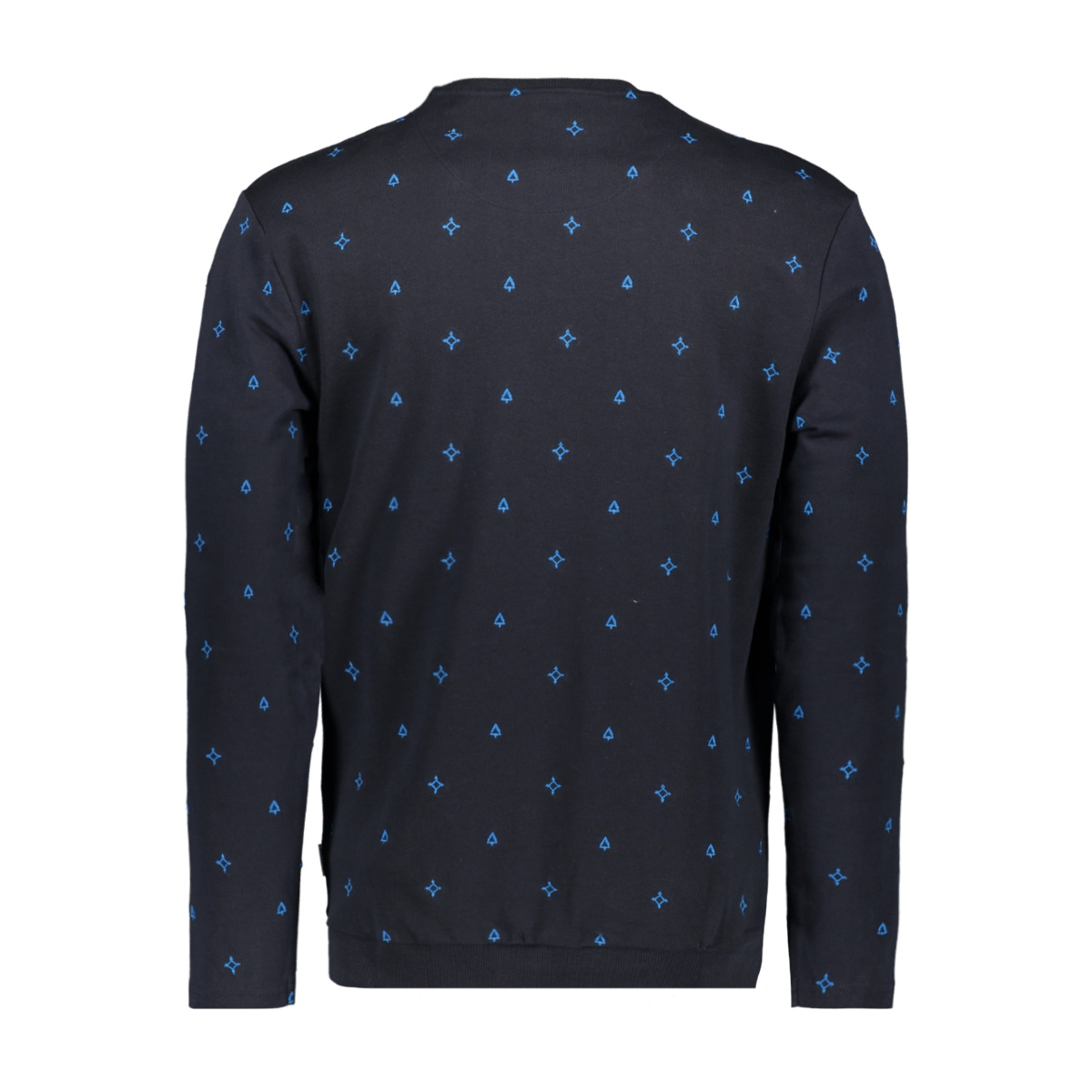 onsfulton slim crew neck aoe sweat 22015487 only & sons trui dark navy