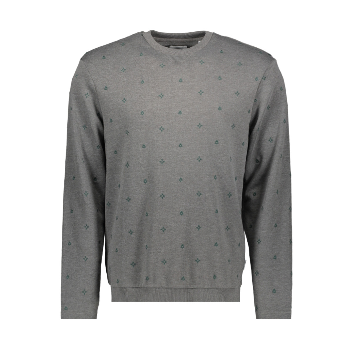 onsfulton slim crew neck aoe sweat 22015487 only & sons trui medium grey melange
