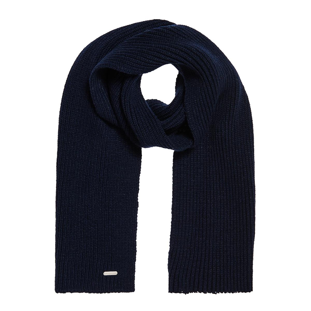 edit scarf m9300001a superdry sjaal dark navy