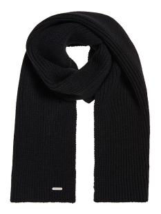 edit scarf m9300001a superdry sjaal black
