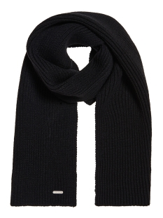 Superdry Sjaal EDIT SCARF M9300001A BLACK