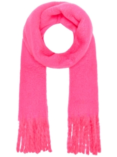 Only Sjaal ONLEMMA SOLID HEAVY BRUSHED WOVEN S 15183565 Knockout Pink