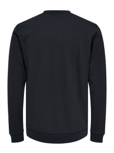 onstage crewneck 22014594 only & sons sweater dark navy