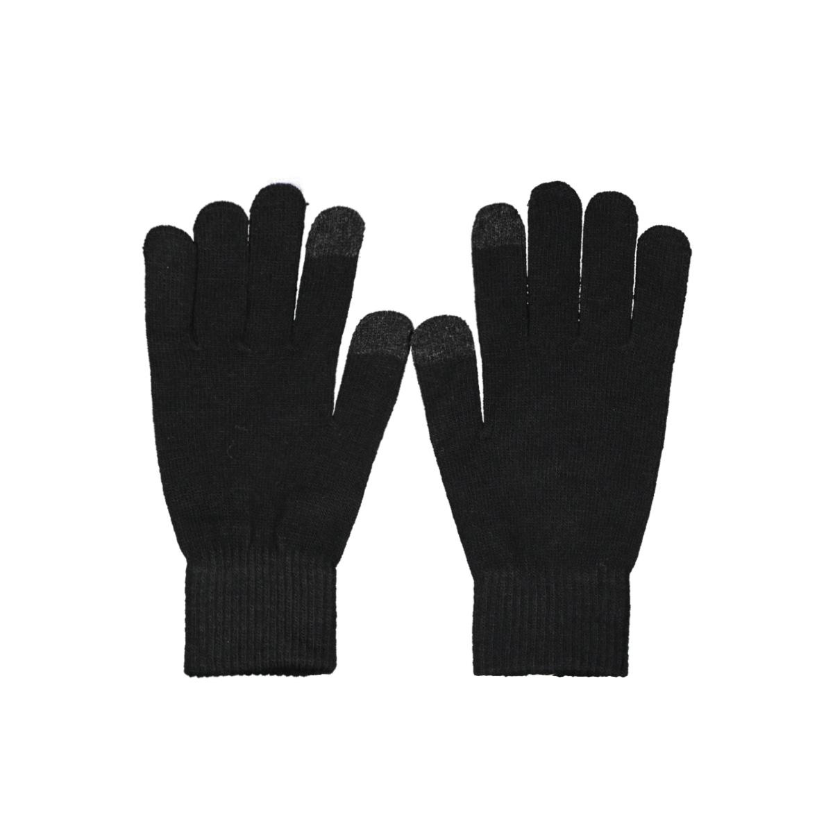 jachenry knit gloves 12158446 jack & jones accessoire black