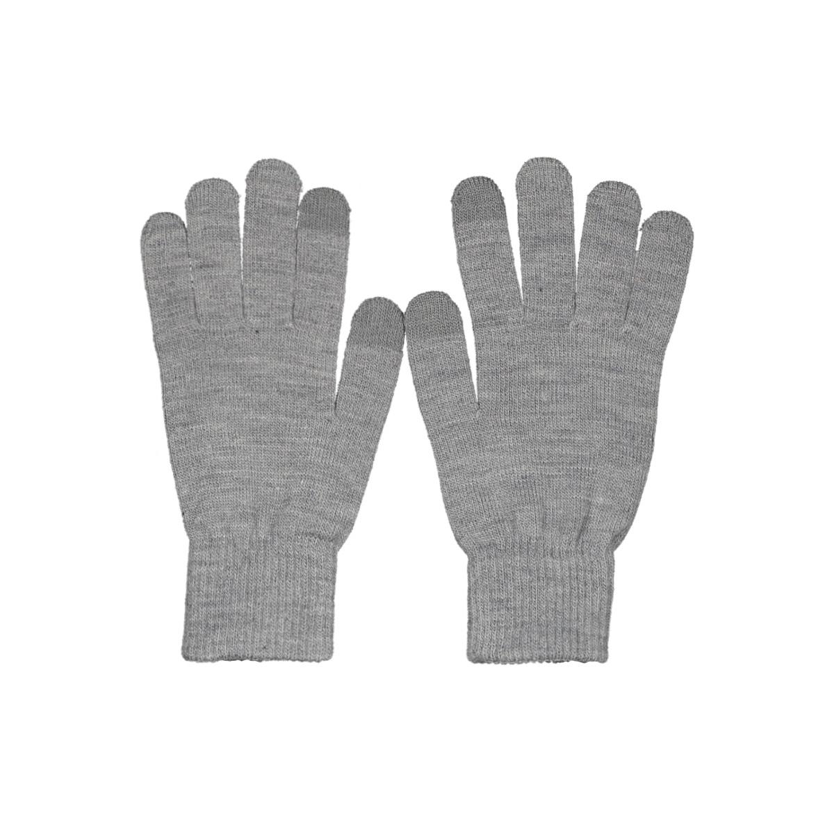 jachenry knit gloves 12158446 jack & jones accessoire grey melange