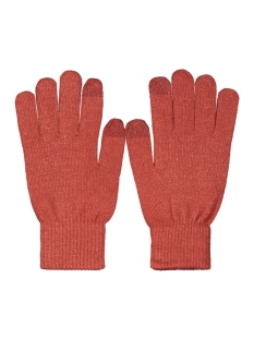 jachenry knit gloves 12158446 jack & jones accessoire brick red