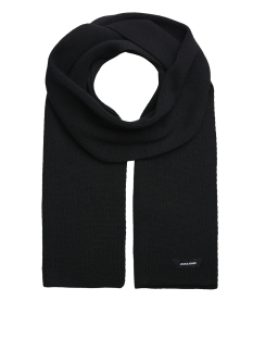Jack & Jones Sjaal JACDNA KNIT SCARF NOOS 12098582 Black