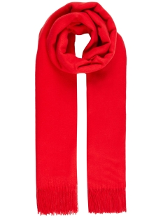 Vero Moda Sjaal VMIMPACT LONG SCARF GA COLOR 10215760 Chinese Red