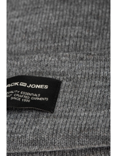 jacdna beanie noos 12092815 jack & jones accessoire grey melange