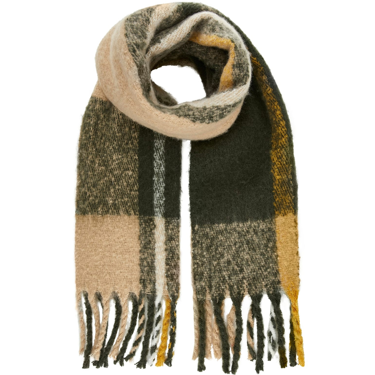 pcellie long scarf noos 17097216 pieces sjaal forest night