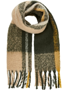 Pieces Sjaal PCELLIE LONG SCARF NOOS 17097216 Forest Night
