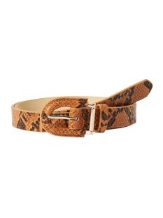 pcinaya jeans belt 17099599 pieces riem cognac
