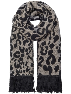 Only Sjaal ONLMILA DOUBLE FACE WOVEN SCARF 15183479 Black