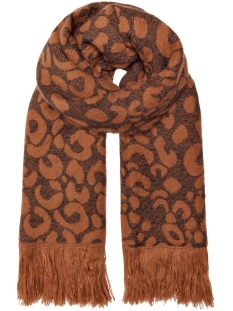 Only Sjaal ONLMILA DOUBLE FACE WOVEN SCARF 15183479 Ginger Bread