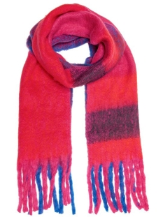Only Sjaal ONLAZOR HEAVY FRINGE SCARF CC 15160540 Virtual Pink/WITH FIERY