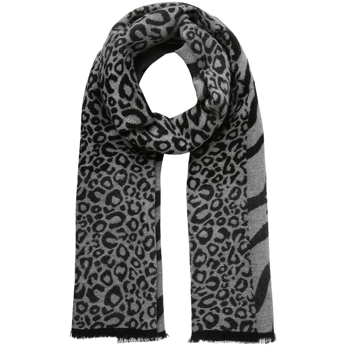 pcingrid long scarf 17099667 pieces sjaal light grey melange